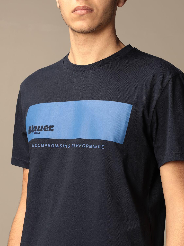 T-shirt Blauer: T-shirt men Blauer sapphire 3