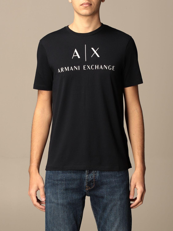 T-shirt Armani Exchange: T-shirt men Armani Exchange blue 1