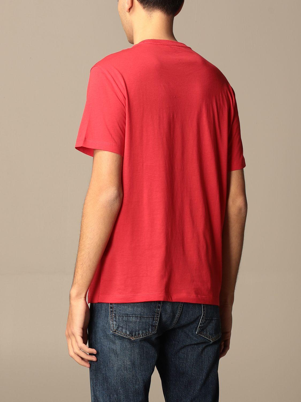 T-shirt Armani Exchange: T-shirt homme Armani Exchange rouge 2