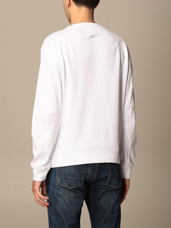 Sweatshirt Armani Exchange: Armani Exchange crewneck sweatshirt with AX logo white 2