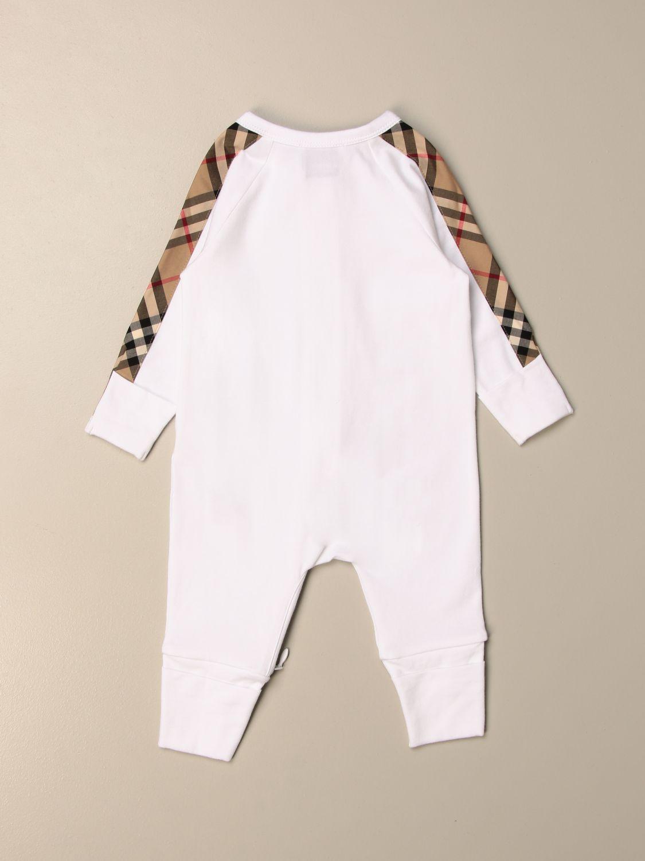 Pack Burberry: Conjunto niños Burberry blanco 2