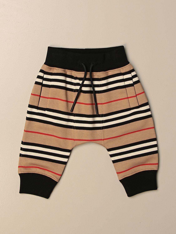 Pantalón Burberry: Pantalón niños Burberry beige 1