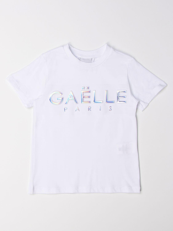 T-Shirt Gaëlle Paris: T-shirt kinder GaËlle Paris weiß 1