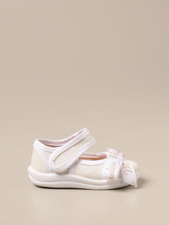 Zapatos Monnalisa: Zapatos niños Monnalisa blanco 1