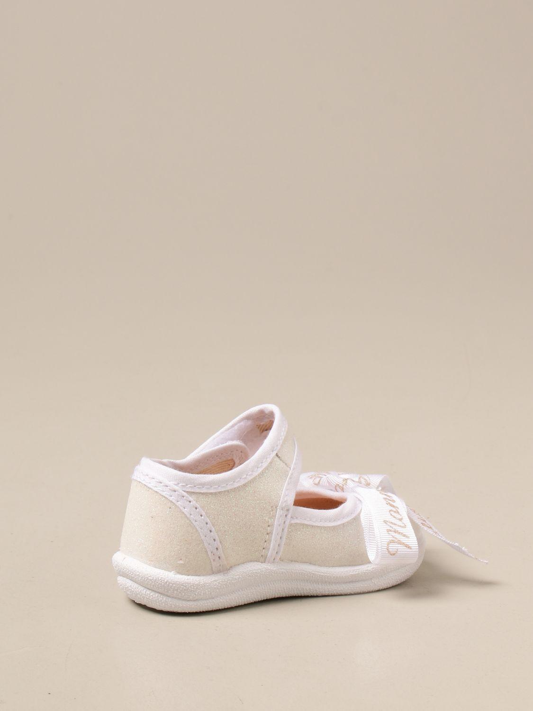 Zapatos Monnalisa: Zapatos niños Monnalisa blanco 3