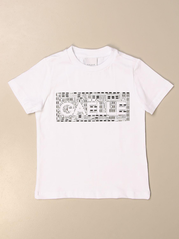 T-shirt Gaëlle Paris: T-shirt kids GaËlle Paris white 1