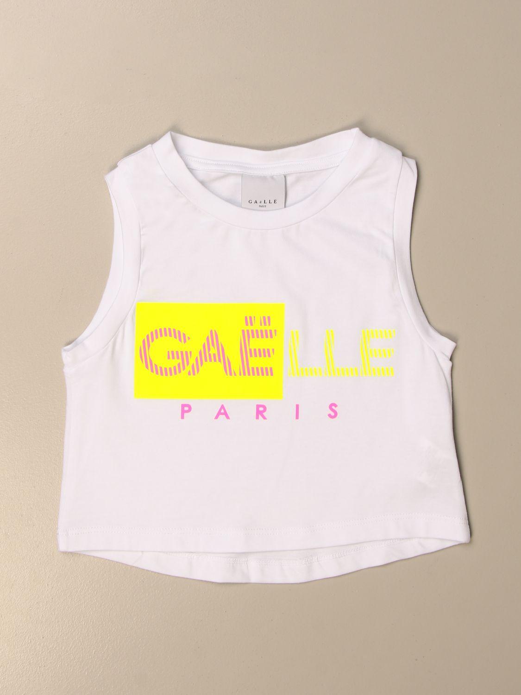 背心 Gaëlle Paris: T恤 儿童 GaËlle Paris 白色 1