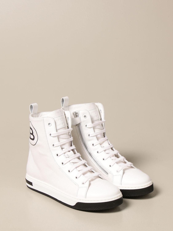 Zapatos Balmain: Zapatos niños Balmain blanco 2