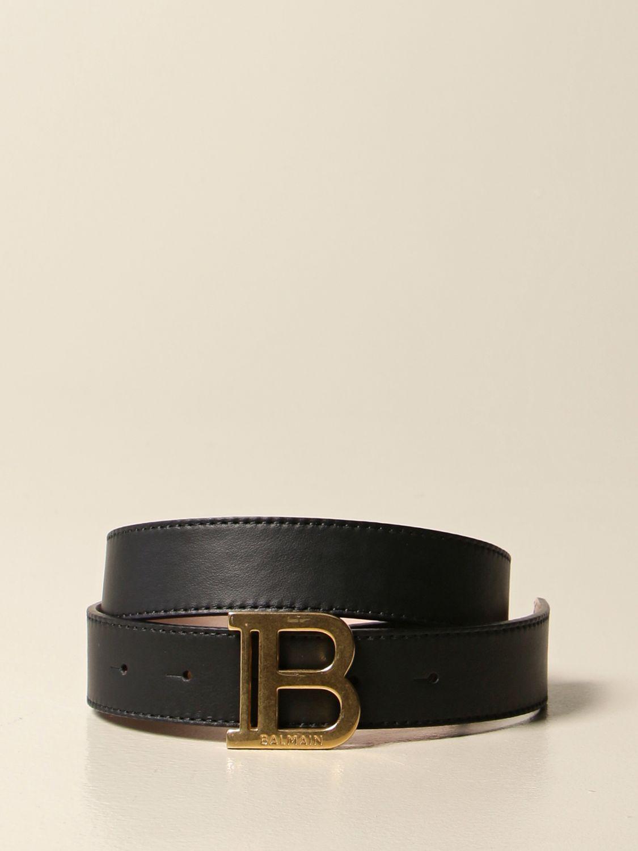 Cinturón Balmain: Cinturón niños Balmain negro 1
