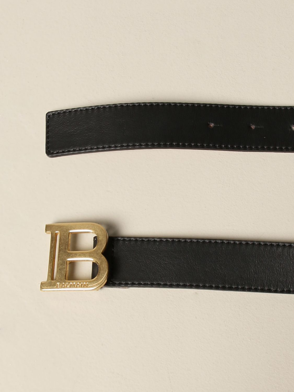 Cinturón Balmain: Cinturón niños Balmain negro 2