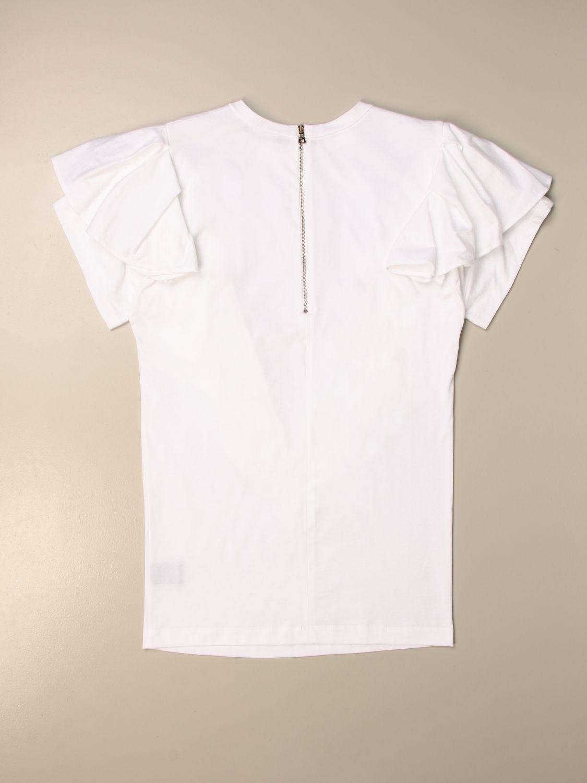 Vestido Balmain: Traje niños Balmain blanco 2