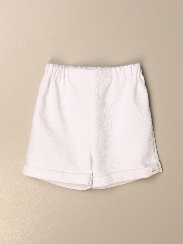 Pantaloncino La Stupenderia: Pantaloncino jogging La Stupenderia bianco 1