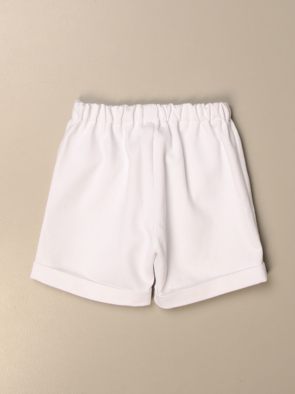 Pantaloncino La Stupenderia: Pantaloncino jogging La Stupenderia bianco 2