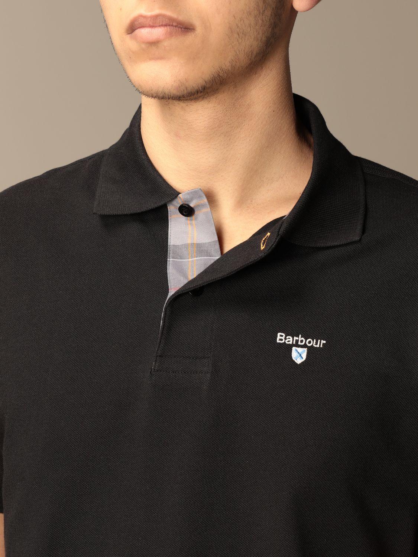Polo shirt Barbour: Jumper men Barbour black 3