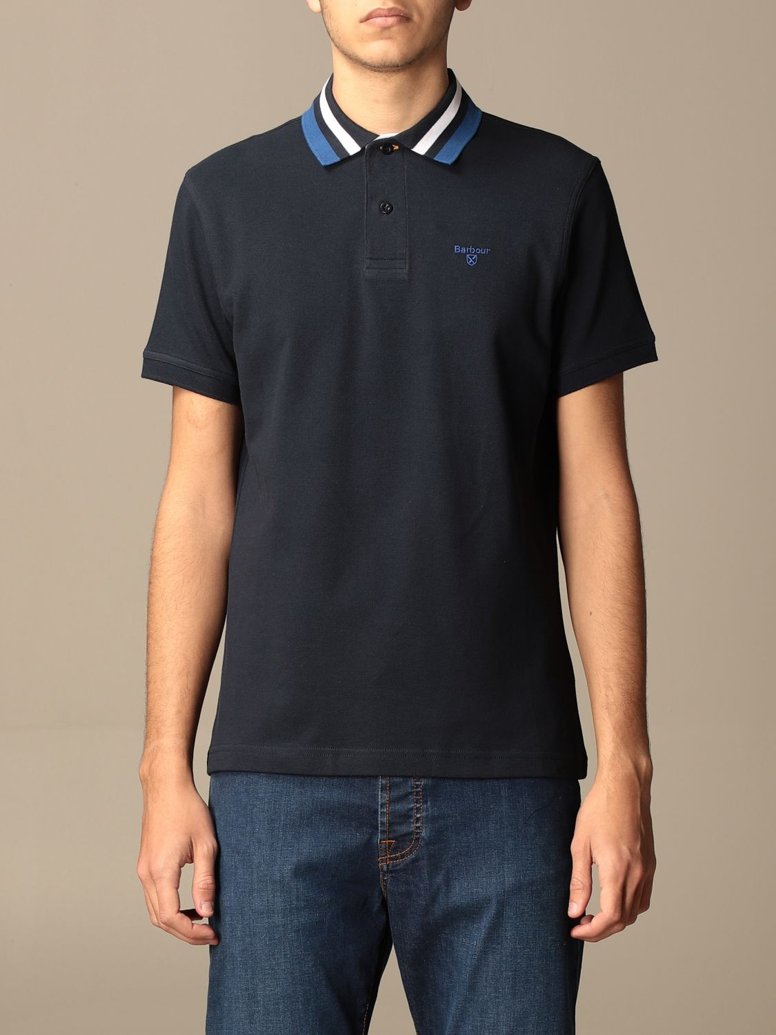 Polo Barbour: Pull homme Barbour bleu marine 1