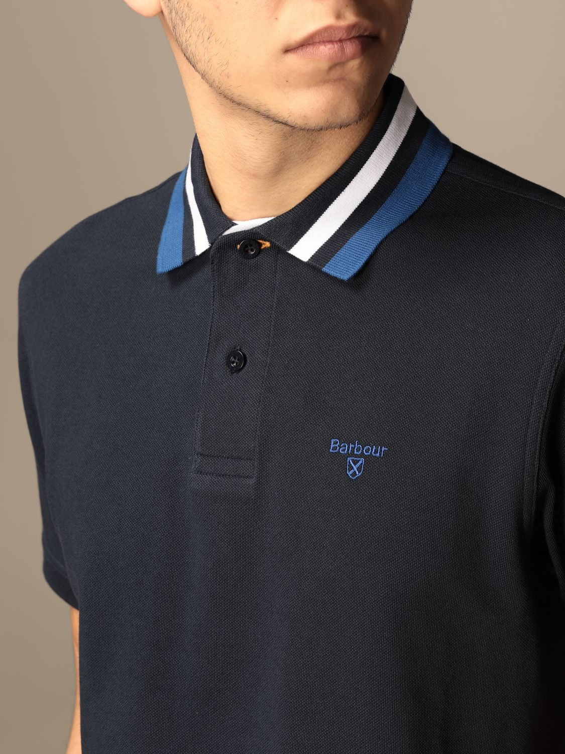 Polo Barbour: Pull homme Barbour bleu marine 3