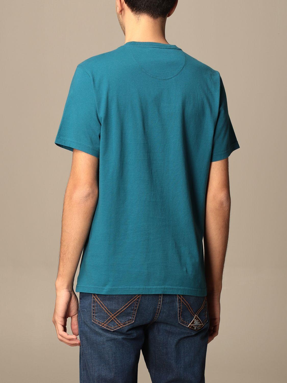 T-shirt Barbour: Barbour cotton t-shirt with logo detail blue 2