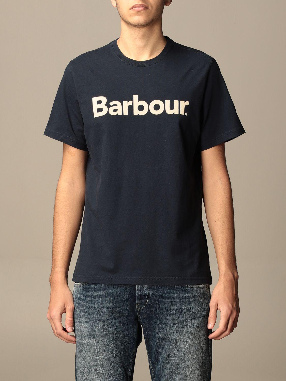 T-shirt Barbour: T-shirt men Barbour blue 1 1