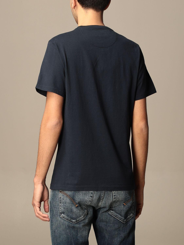 T-shirt Barbour: T-shirt men Barbour blue 1 2