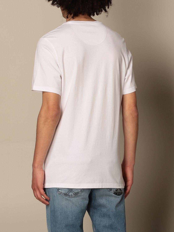 T-shirt Barbour: T-shirt Barbour in cotone con dettaglio logo bianco 2
