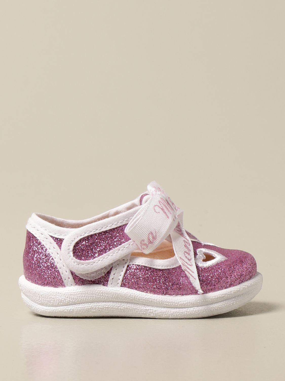 Zapatos Monnalisa: Zapatos niños Monnalisa lila 1