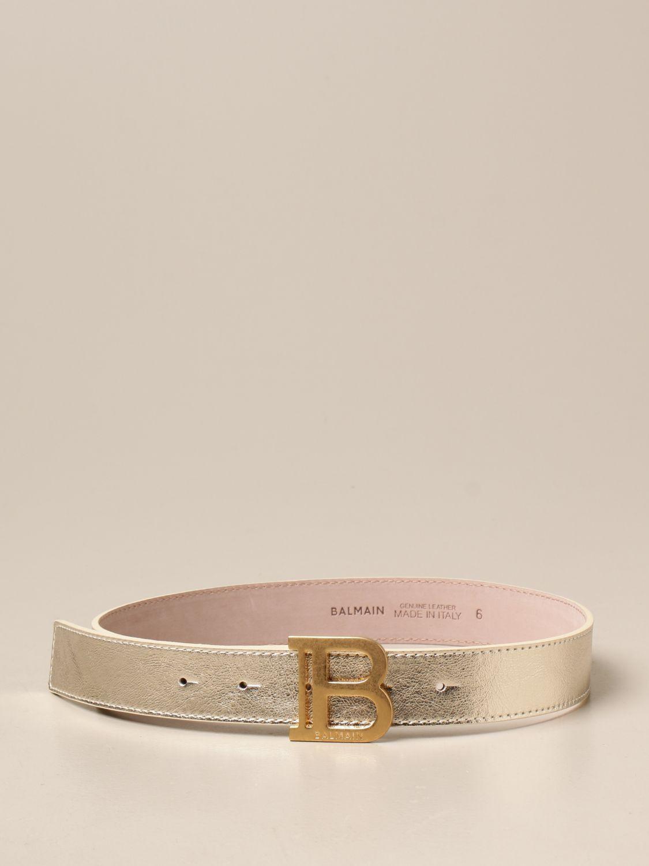 Cinturón Balmain: Cinturón niños Balmain oro 1