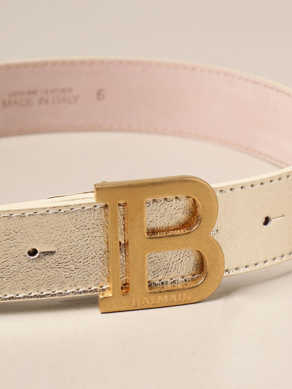 Cinturón Balmain: Cinturón niños Balmain oro 2