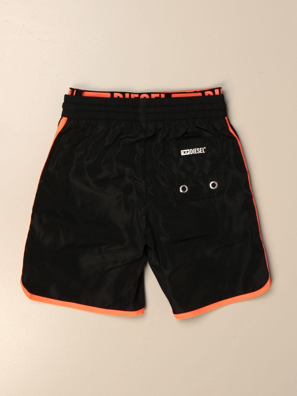 Costume Diesel: Costume a boxer Diesel con logo nero 2