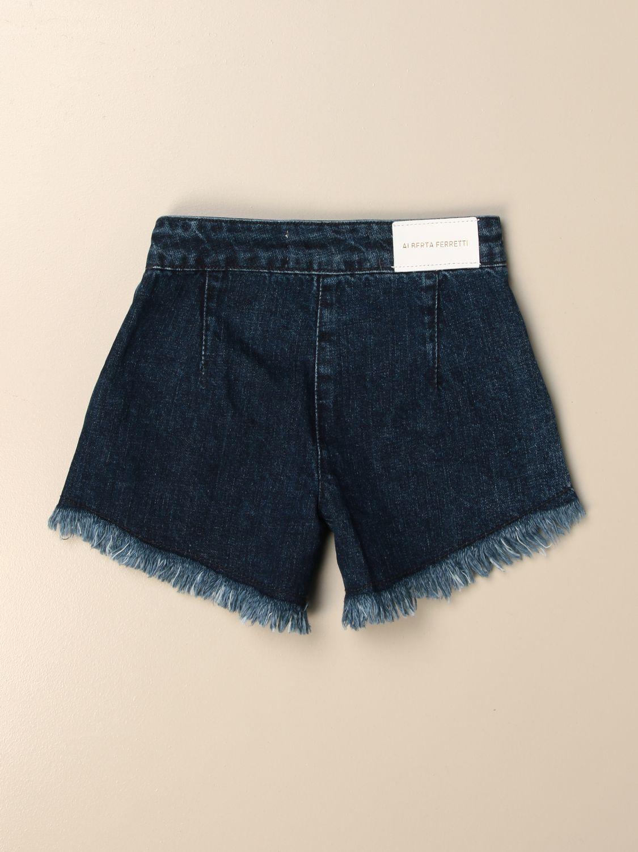 Pantalones cortos Alberta Ferretti Junior: Pantalones cortos niños Alberta Ferretti Junior denim 2