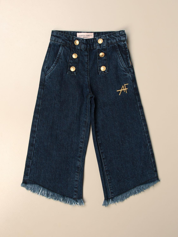 牛仔裤 Alberta Ferretti Junior: 牛仔裤 儿童 Alberta Ferretti Junior 牛仔布 1