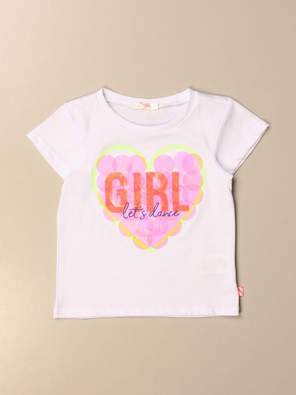 T-shirt Billieblush: Billieblush T-shirt with print white 1