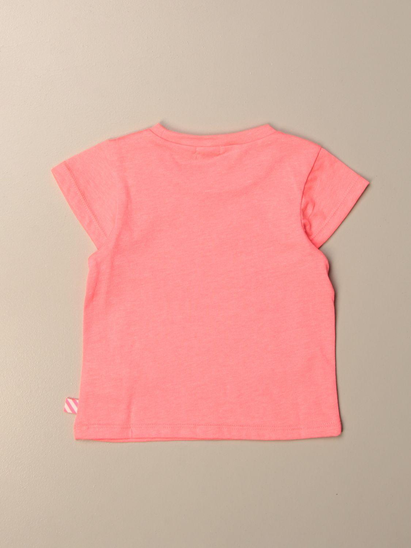 Camisetas Billieblush: Camisetas niños Billieblush fucsia 2