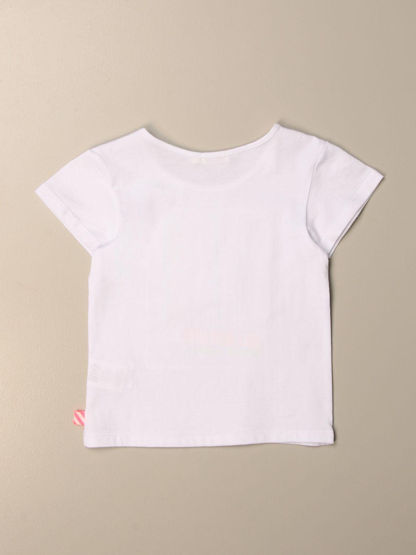 Camisetas Billieblush: Camisetas niños Billieblush blanco 2
