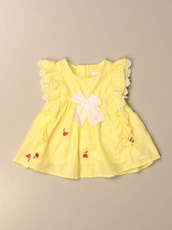 Camisa Chloé: Camisa niños ChloÉ lima 1