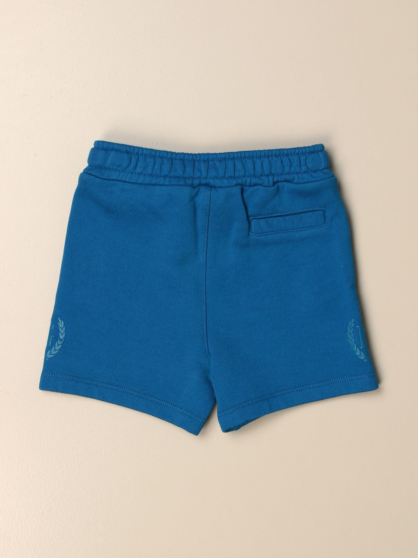 Shorts Dolce & Gabbana: Dolce & Gabbana cotton jogging shorts turquoise 2