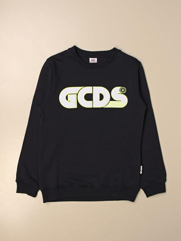 Maglia Gcds: Felpa a girocollo Gcds con logo nero 1 1