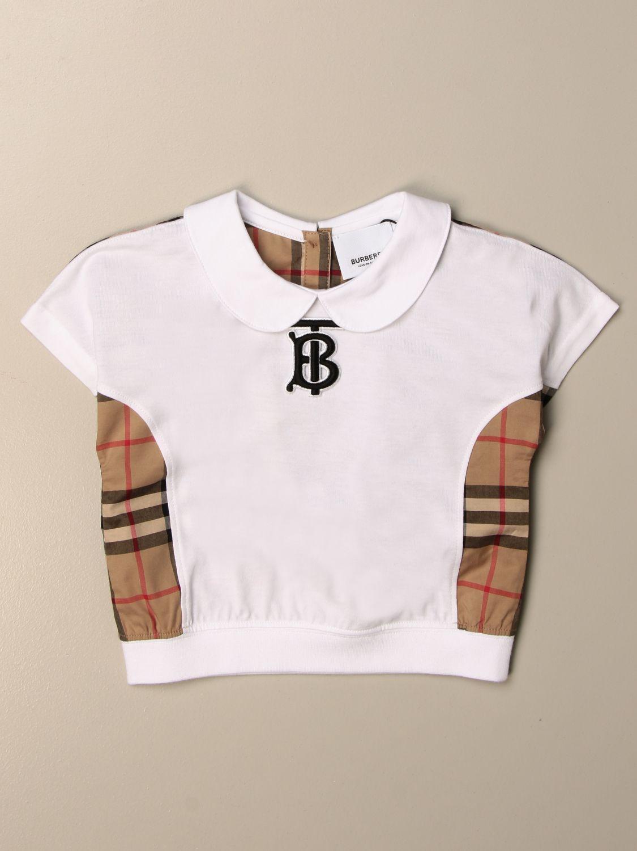 Camiseta Burberry: Camiseta niños Burberry beige 1
