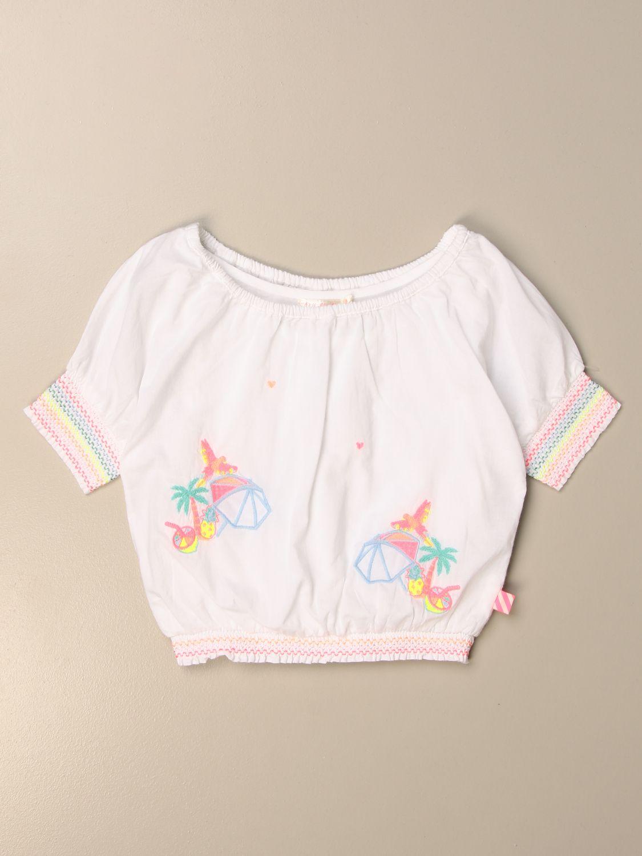 Camisa Billieblush: Camisa niños Billieblush blanco 1