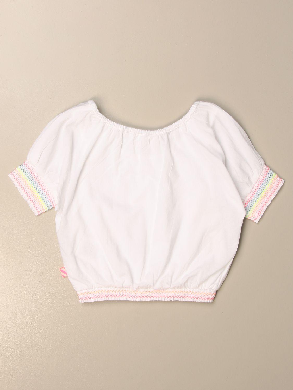 Camisa Billieblush: Camisa niños Billieblush blanco 2