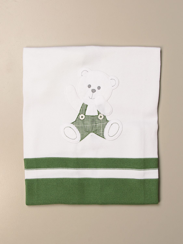 Manta Colori Chiari: Manta niños Colori Chiari verde 1