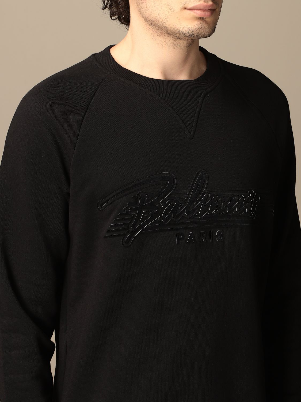 Sweatshirt Balmain: Sweatshirt homme Balmain noir 5