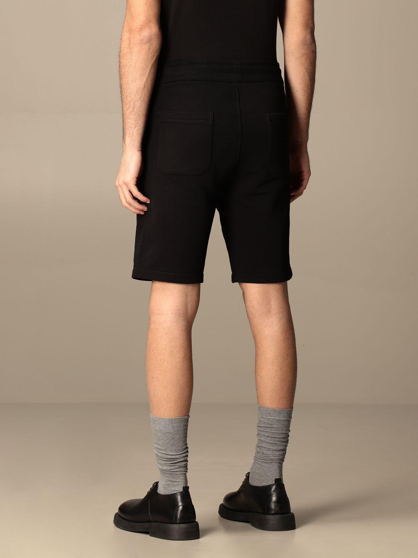 Trousers Balmain: Balmain cotton jogging shorts black 2