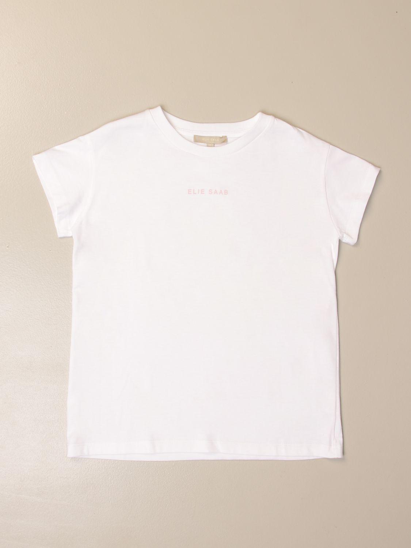 T-shirt Elie Saab: T-shirt kids Elie Saab white 1