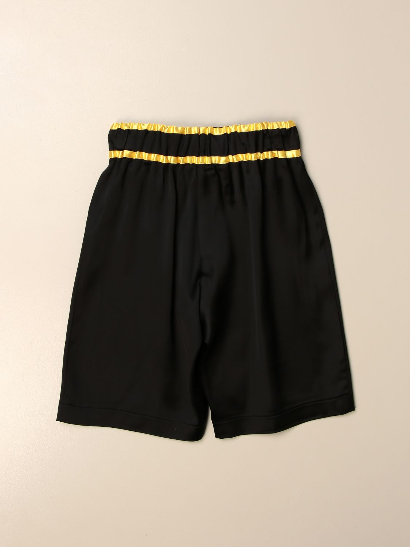 Pantalón corto Balmain: Pantalón corto niños Balmain negro 2