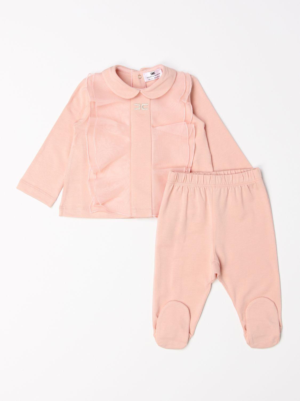 Jumpsuit Elisabetta Franchi: Complete polo shirt + Elisabetta Franchi footed trousers pink 1