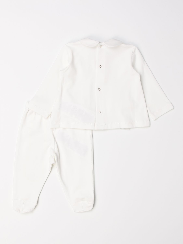 Jumpsuit Elisabetta Franchi: Complete polo shirt + Elisabetta Franchi footed trousers ivory 2