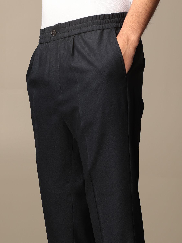Trousers Ami Alexandre Mattiussi: Trousers men Ami Alexandre Mattiussi navy 4