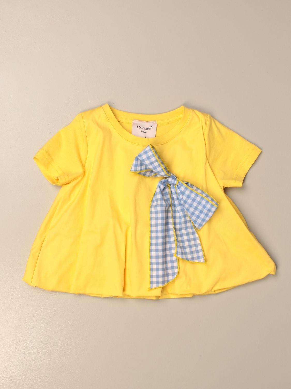 T-shirt Mariuccia Milano: T-shirt enfant Mariuccia Milano jaune 1
