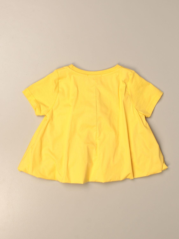 T-shirt Mariuccia Milano: T-shirt enfant Mariuccia Milano jaune 2