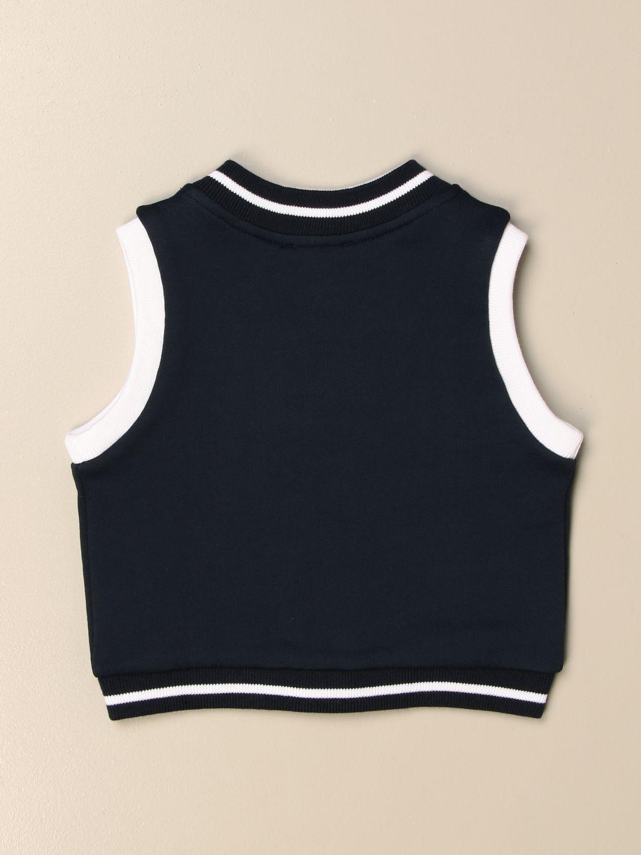Vestcoat Fay: Classic Fay vest with logo blue 2